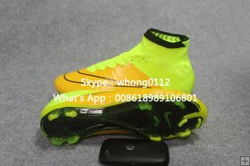 Nike Mercurial Superfly FG high ankle soccer boots