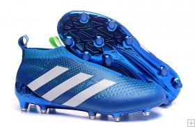 Adidas ACE 16+ PureControl soccer boots blue white