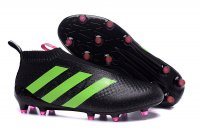 Adidas ACE 16+ PureControl soccer boots black green