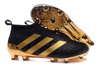 Adidas ACE 16+ PureControl soccer boots black gold