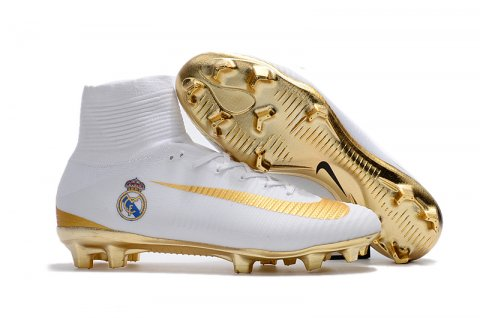 60f0fb31a41 Real Madrid Nike Mercurial Superfly V FG football boot  NMS006 ...