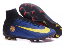 A quality Barcelona Nike Mercurial Superfly V FG football boots